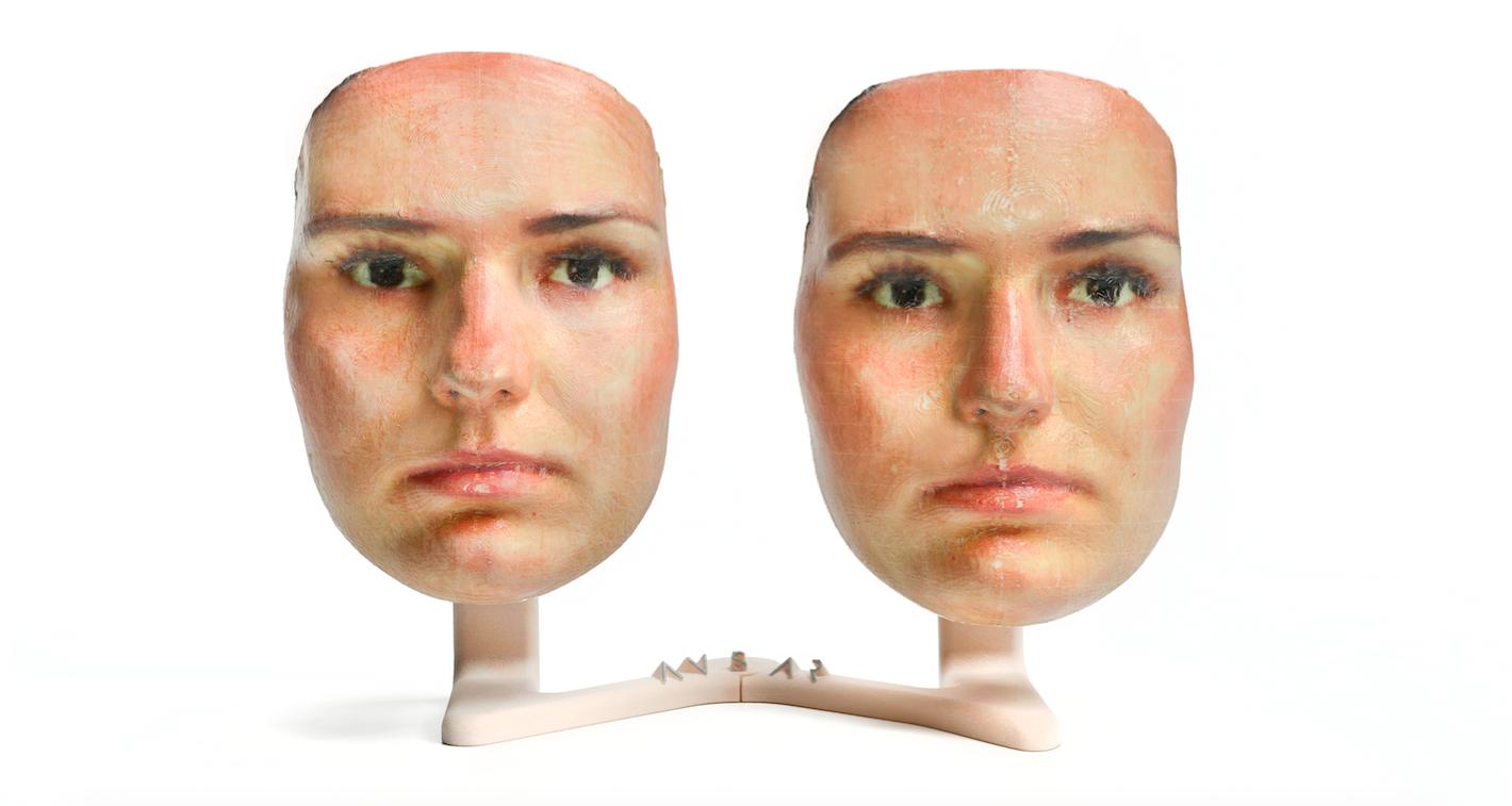 burun estetik 3d maske